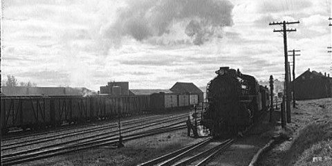 1940 Train-Truck Collision