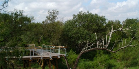 Bentsen State Park, The lush garden